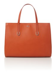 Hugo Boss Norah Orange Tote Bag Orange