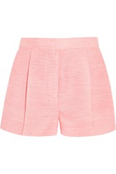 Stella Mccartney Warwick Slub Canvas Shorts Pink