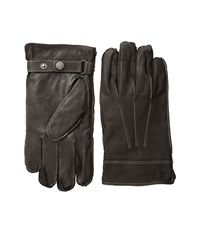 Original Penguin Leather Gloves With Darts Brown Extreme Cold Weather Gloves