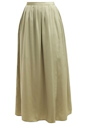 Mintandberry Maxi Skirt Tea Khaki