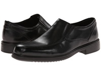 Bostonian Bardwell Step Black Leather Men's Slip On Dress Shoes