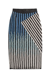 David Koma Crystal Embellished Pencil Skirt