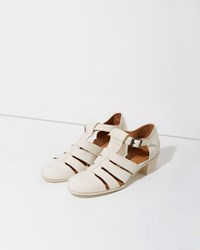 Le Yucca's Quoddy Sandal White
