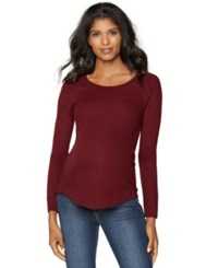 Sweet Romeo Maternity Scoop Neck Sweater