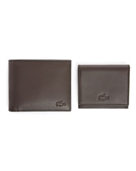 Lacoste Brown Leather Wallet