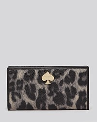 Kate Spade New York Wallet Leroy Street Animal Print Stacy