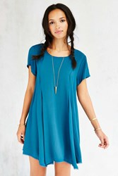 Silence And Noise Silence Noise Witchy T Shirt Dress Teal