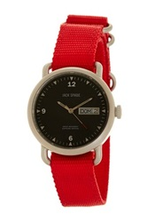 Jack Spade Men's Conway Watch Red