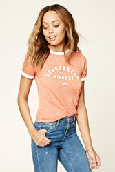 Forever 21 Heartbreak Highway Ringer Tee