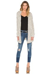 Soh Long Hooded Cardigan Ivory