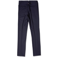 Thom Browne Classic Backstrap Suit Trouser Navy Wool