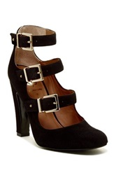 Vc Signature Gillee Buckle Strap Pump Black