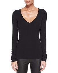 Theory Isakal Long Sleeve Knit Top