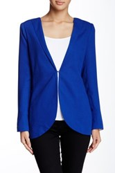 Lavand. Spread Collar Blazer Blue