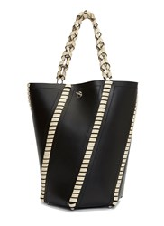 Proenza Schouler Hava Whip Stitched Bucket Bag Black