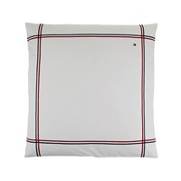 Tommy Hilfiger White Couture Trim Pillowcase 65X65