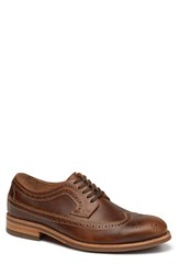 Men's Trask 'Fiske' Longwing Brown
