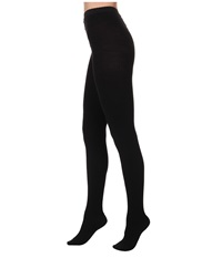 Wolford Fine Merino Rib Tights Black Hose