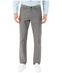 Kenneth Cole Sportswear Slim Five Pocket Pants Dim Grey Combo Men's Casual Pants Gray