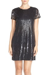 Cece By Cynthia Steffe 'Michele' Sequin Woven Shift Dress