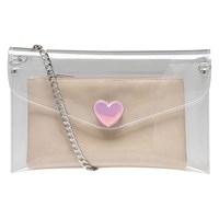 Miss Kg Harty Clutch Bag Nude