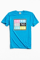 Cross Colours Love Sees No Color Tee Blue