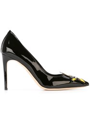 Dsquared2 A Babe Wirea Punk Patch Pumps Black