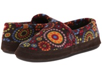 Acorn Moc Chocolate Dots Women's Moccasin Shoes Multi
