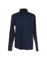 Cheap Monday Shirts Shirts Men Dark Blue