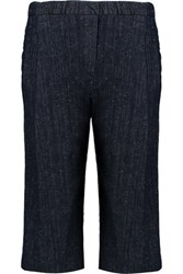 Brunello Cucinelli Stretch Denim Culottes Midnight Blue