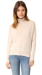 Club Monaco Eleesa Cashmere Turtleneck Light Oatmeal