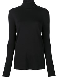 Veronique Branquinho Roll Neck Jumper Black