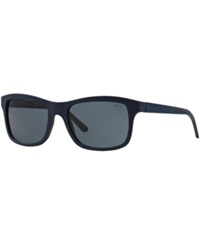 Polo Ralph Lauren Sunglasses Polo Ralph Lauren Ph4095 57 Blue Matte Grey