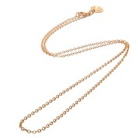 Mirabelle Simple Round Link Chain Gold