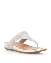 Fitflop Banda Micro Cry Ff2 Crystal Sandal Gold