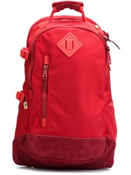 Visvim Padded Backpack Red