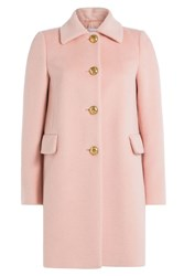 Red Valentino Coat With Alpaca And Wool Rose