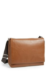 Men's Skagen 'Eric' Leather Messenger Bag