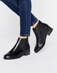 New Look Leather Chelsea Ankle Boot Black