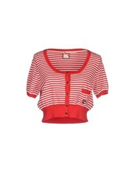 Maison Espin Cardigans Red