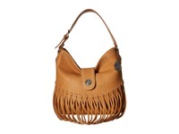 American West Rio Rancho Hobo Shoulder Bag Tan Shoulder Handbags Brown