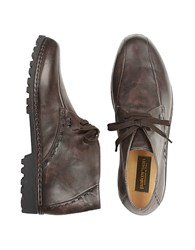 Pakerson Dark Brown Handmade Italian Leather Ankle Boots