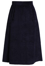Cacharel Aline Skirt Marine Dark Blue