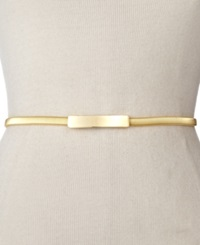 Style And Co. Cobra Stretch Chain Belt