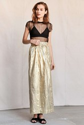 Urban Renewal Vintage Gold Glitz Skirt Assorted