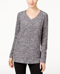 Styleandco. Style Co. Space Dyed Sweatshirt Only At Macy's Deep Black