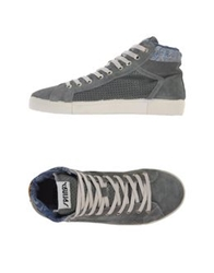 Springa High Tops And Trainers Grey