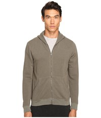 Atm Anthony Thomas Melillo French Terry Zip Hoodie Military