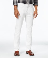 Inc International Concepts Men's Zachary Slim Fit White Wash Jeans Only At Macy's