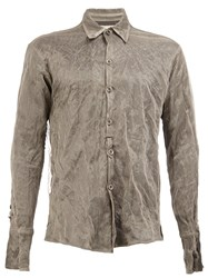 Greg Lauren 'Man Of Steel Studio' Shirt Grey